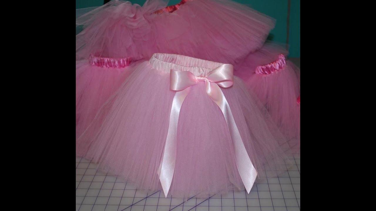 اللون البينك لتنانير الاطفال مناسب يناسب حفلات الزفاف