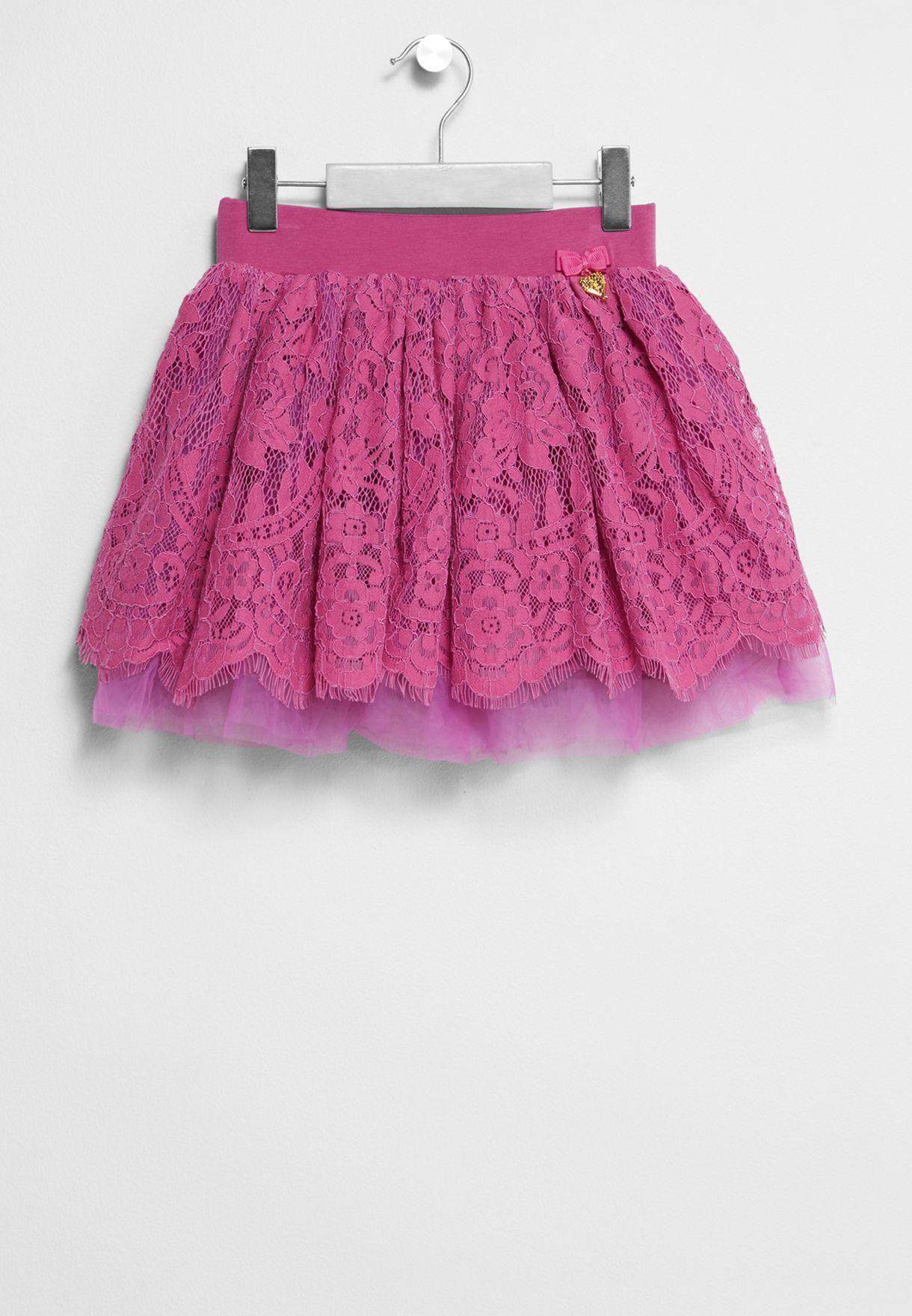 تنورة قصيرة للاطفال بمناسبة عيد الاضحى