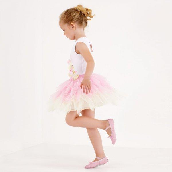 تنورة كلوش قصيرة للاطفال