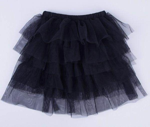 تنورة للأطفال باللون الأسود