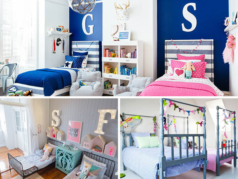 ديكورات مبتكرة لغرف نوم الأطفال