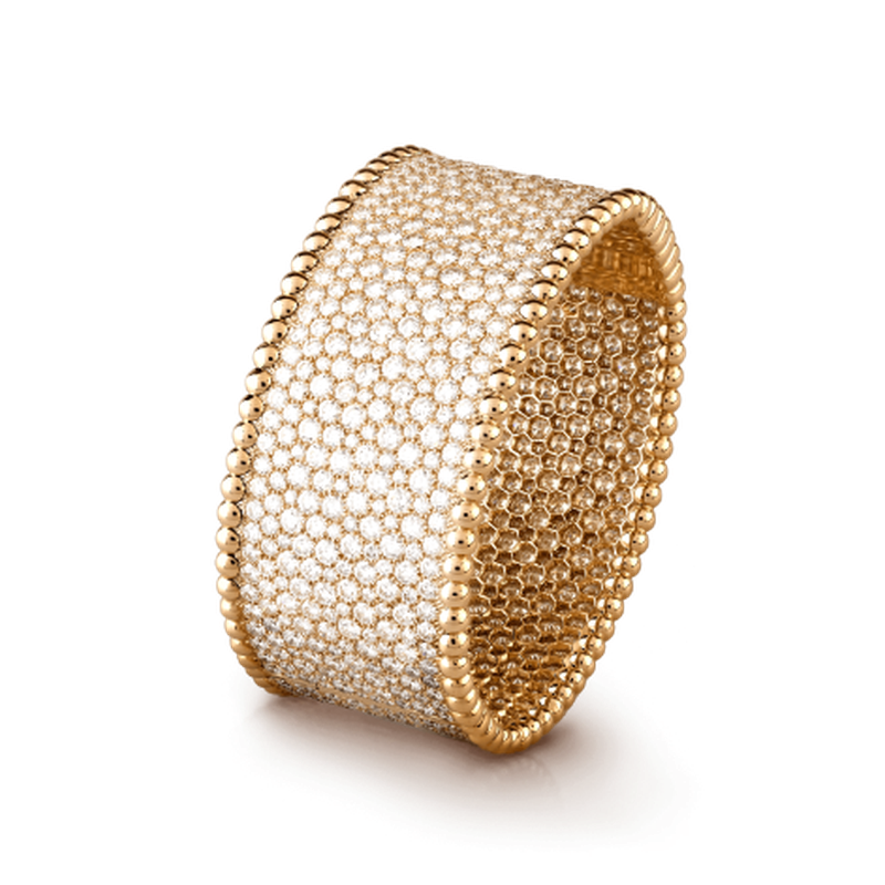 سوار Perlée diamonds cuff