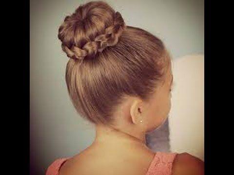 مجموعة تسريحات للاطفال - تسريحات شعر مرفوعة للاطفال - تسريحات بنات للمدرسة