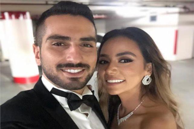 محمد-الشرنوبي-وخطيبته-سارة-الطباخ- (3)