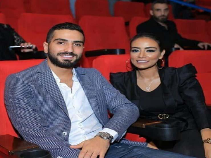 محمد-الشرنوبي-وخطيبته-سارة-الطباخ- (8)