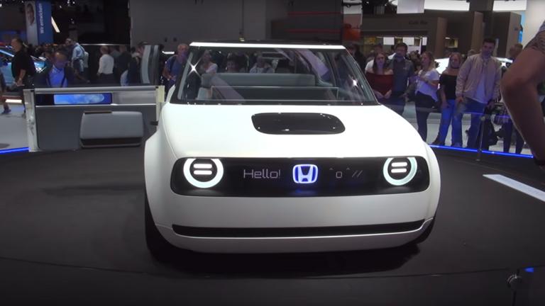 بالفيديو.. هوندا تطرح سيارة كهربائية تنافس بها أقوى السيارات