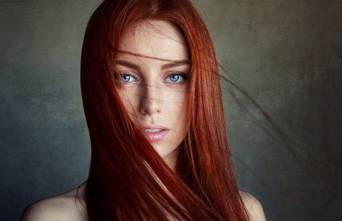 درجات اللون الأحمر لموضة ألوان الشعر لموسم خريف وشتاء 2019