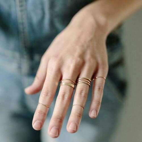 بعض أشكال خواتم اليد