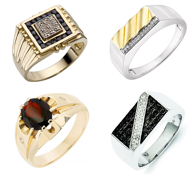 Heavily-Stoned-Signet-Rings-