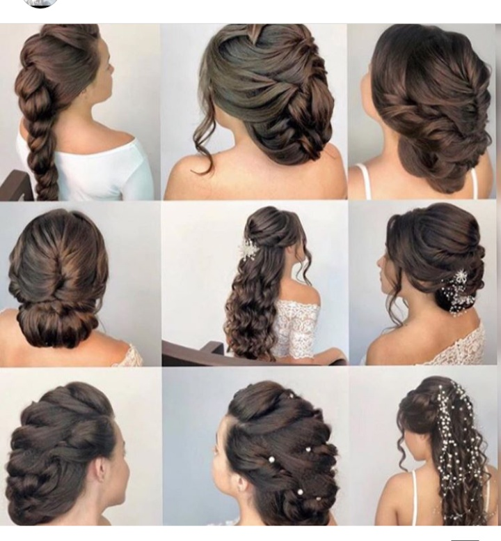 تسريحات شعر فخمة للعروس