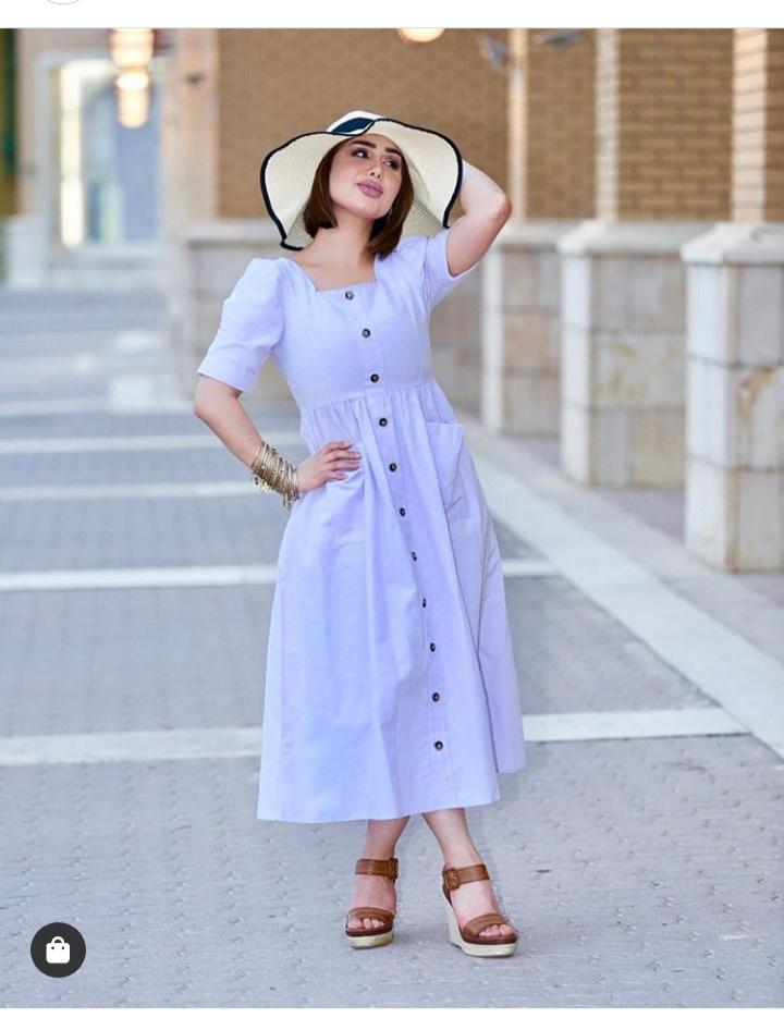 صور فستان قصير صيفي ناعم