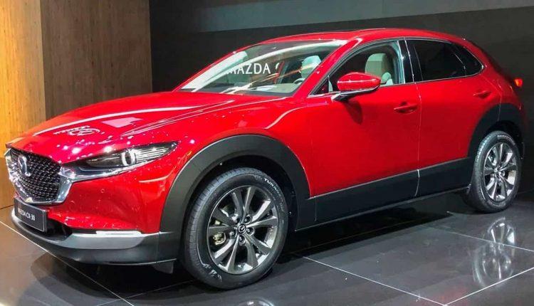 تصميم سيارة Mazda new cx 30