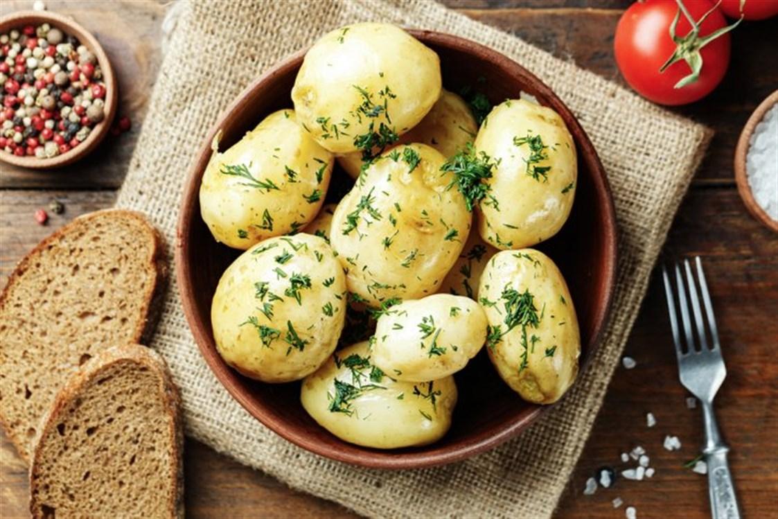 البطاطس المسلوقة لإنقاص الوزن