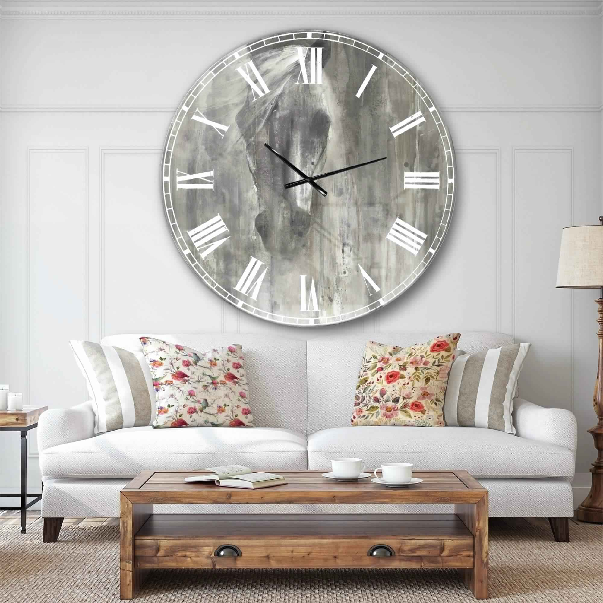 wall-clocks-living-room-buy-oversized-online-at-overstock-our-best-decorative-farmhouse-horse-modern-large