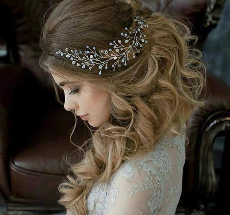 أجمل تسريحات العروس اللبنانية