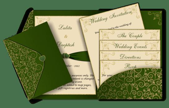 أجمل ثيمات العرس الخضراء