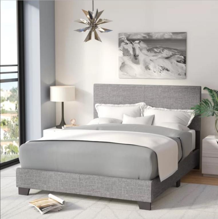 أجمل ديكورات غرف النوم بالابيض والرصاصي لعام 2019