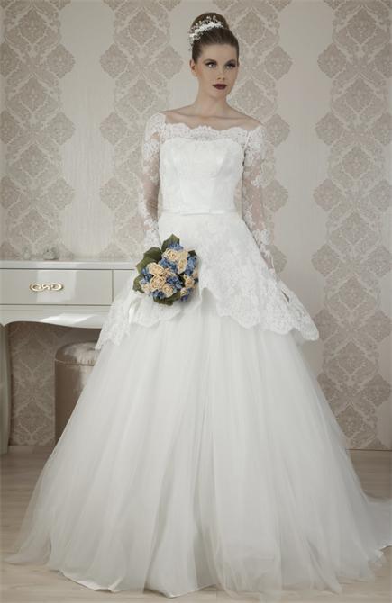 أجمل فساتين الزفاف الدانتيل