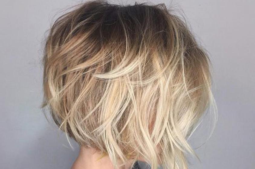 أجمل قصات الشعر الخفيف