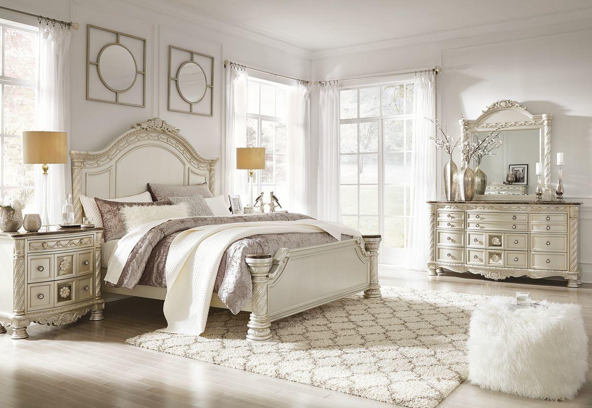أجمل و أرقى تصميمات غرف النوم المودرن باللون الاوف وايت