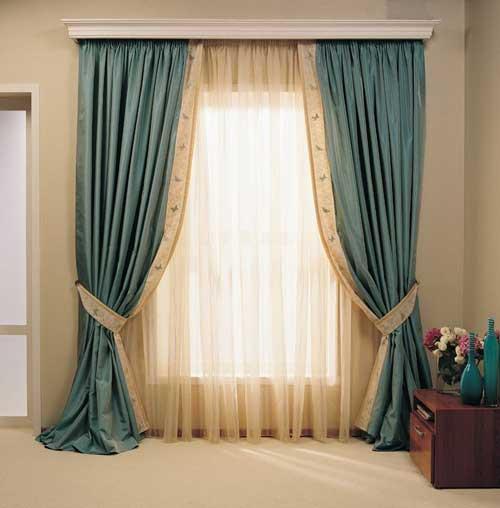ألوان مميزة وعصرية لستائر غرفة الصالون