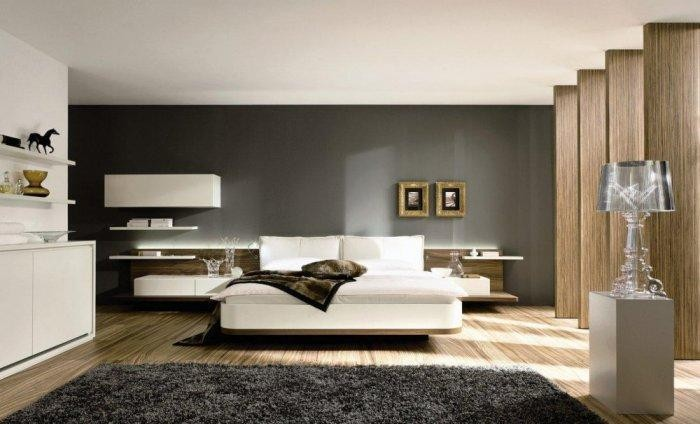 التصميم الحديث يغلب على ديكورات غرف النوم