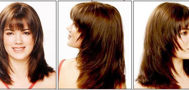 للشعر الطويل قصات شعر طويل مدرج فرنسي