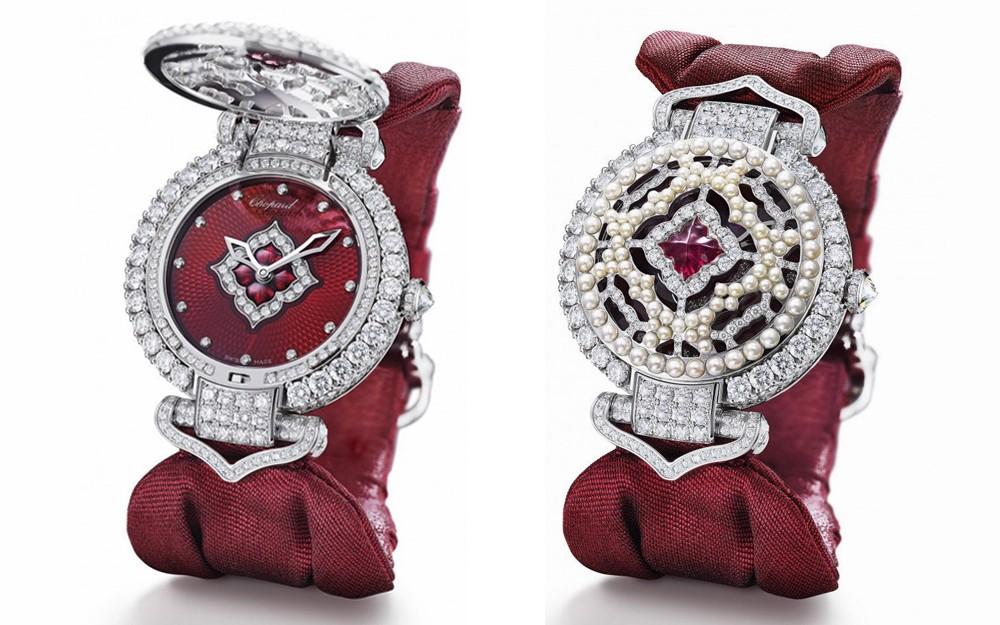 الياقوت الأحمر يزين ساعة من دار شوبارد