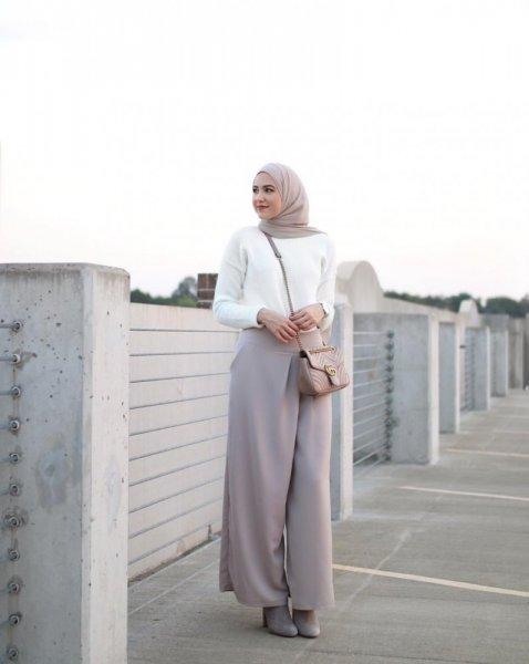 بنطلون-واسع-كلوش-مع -الحجاب-2019- (6)