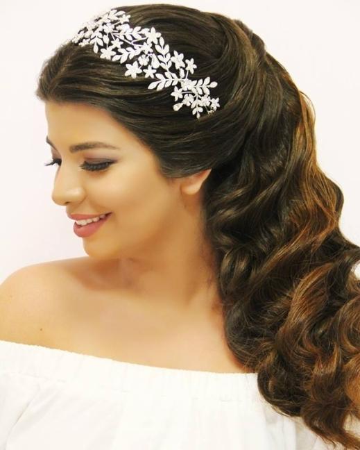 تسريحة شعر لبنانية فخمة ومميزة