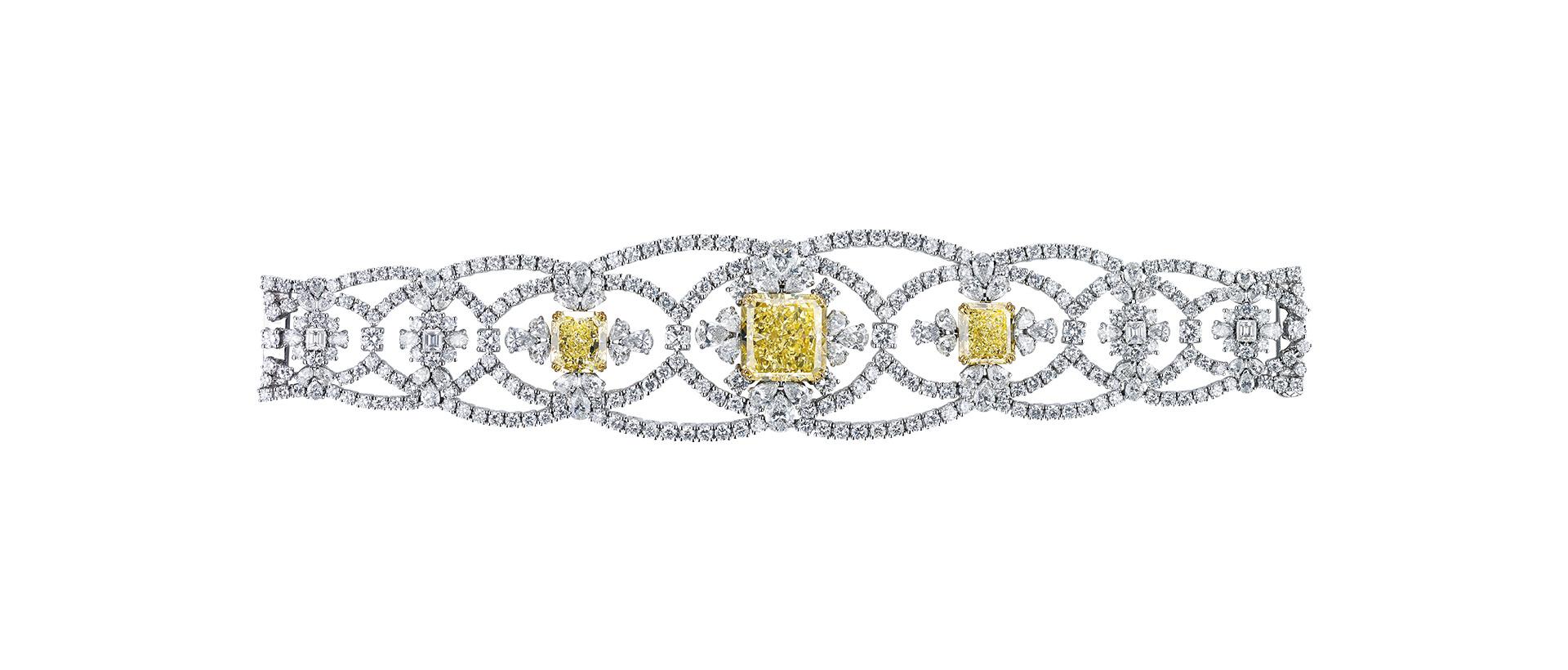 تصميم أخاذ من مجوهرات معوض الماسية لعام 2019