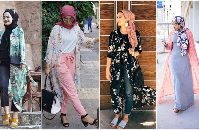 ستايلات مختلفة لملابس المحجبات بمناسبة عيد الاضحى