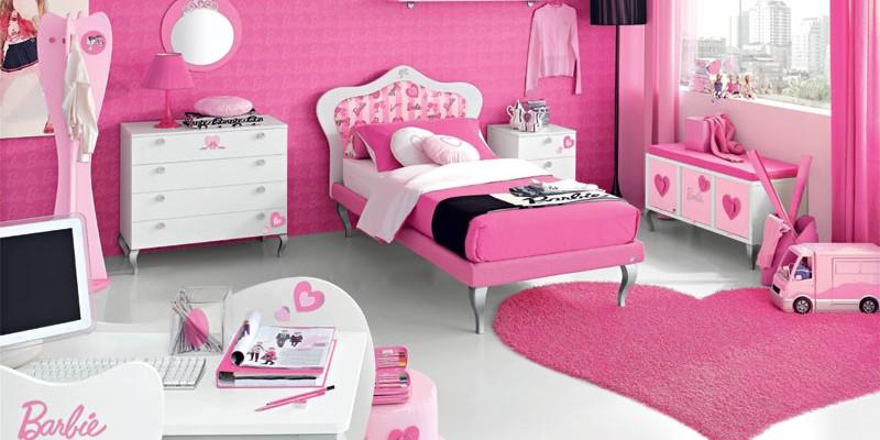 غرفة باللون الفوشيا للفتيات