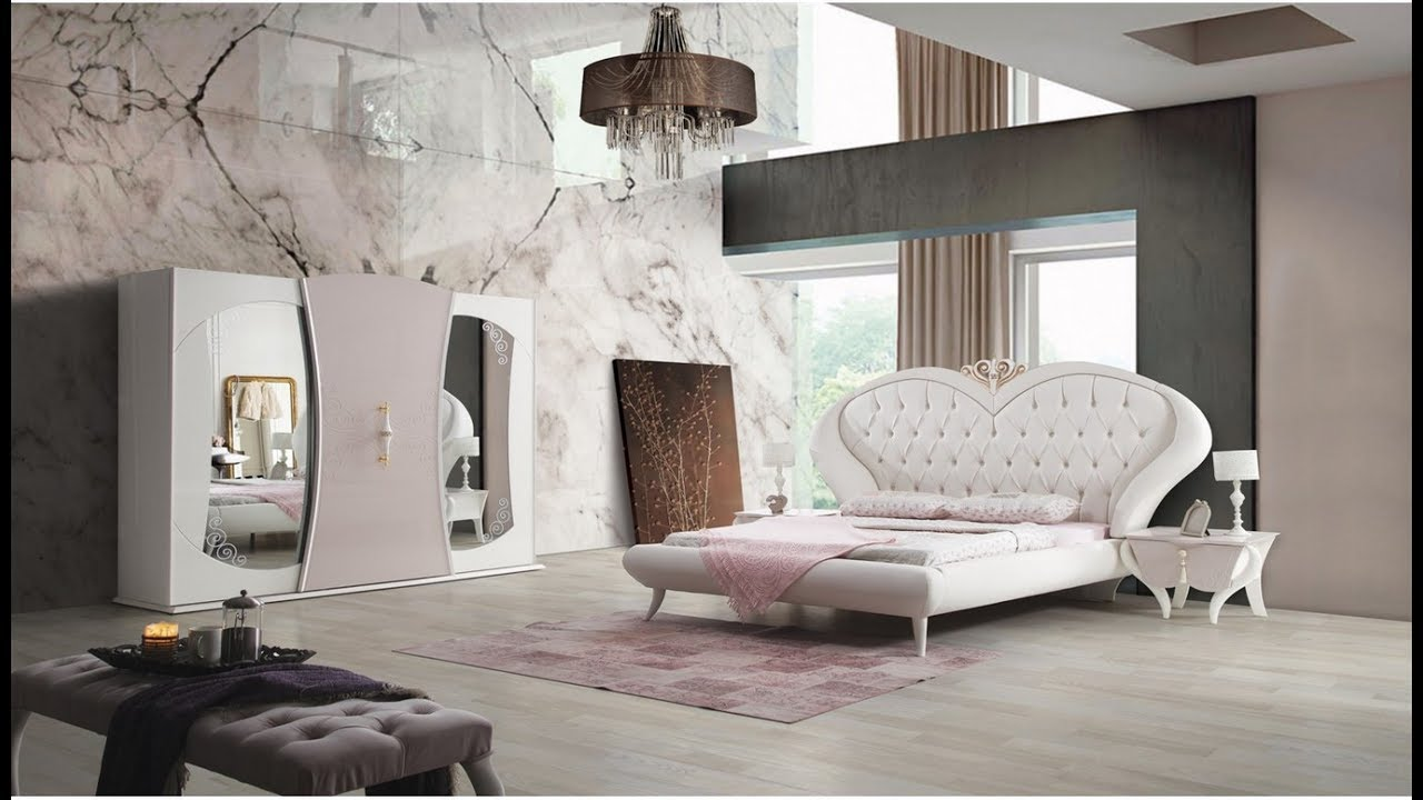غرف نوم مودرن ذات طابع هادىء