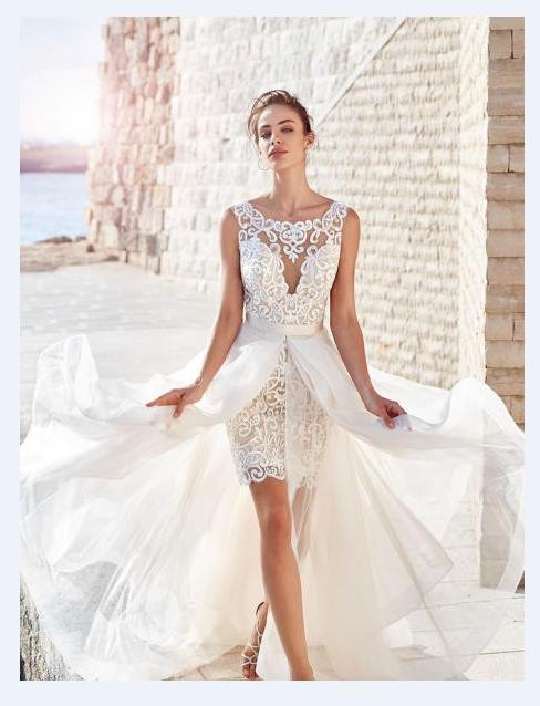 فساتين-زفاف-2019-قصيرة-من-الامام-وطويل-من-الخلف- (13)