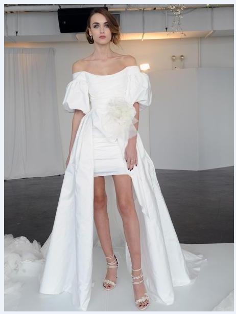 فساتين-زفاف-2019-قصيرة-من-الامام-وطويل-من-الخلف- (2)