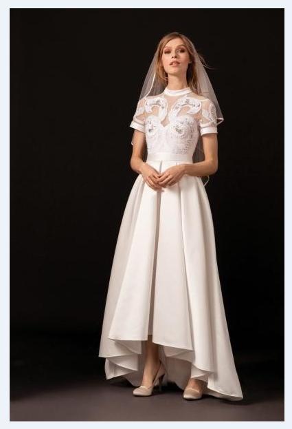 فساتين-زفاف-2019-قصيرة-من-الامام-وطويل-من-الخلف- (6)