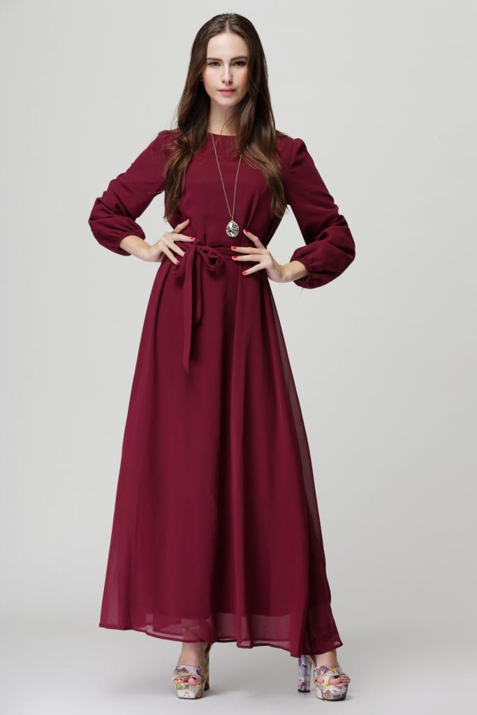 فستان-شيفون