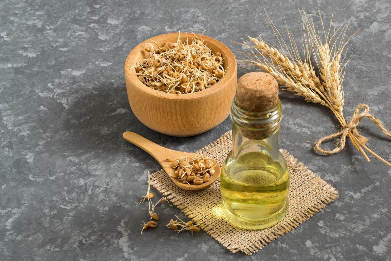 فوائد زيت اللوز المر وزيت جنين القمح