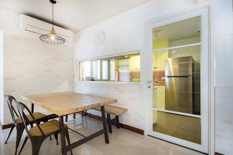 ديكورات مودرن للصالات المفتوحة على المطبخ