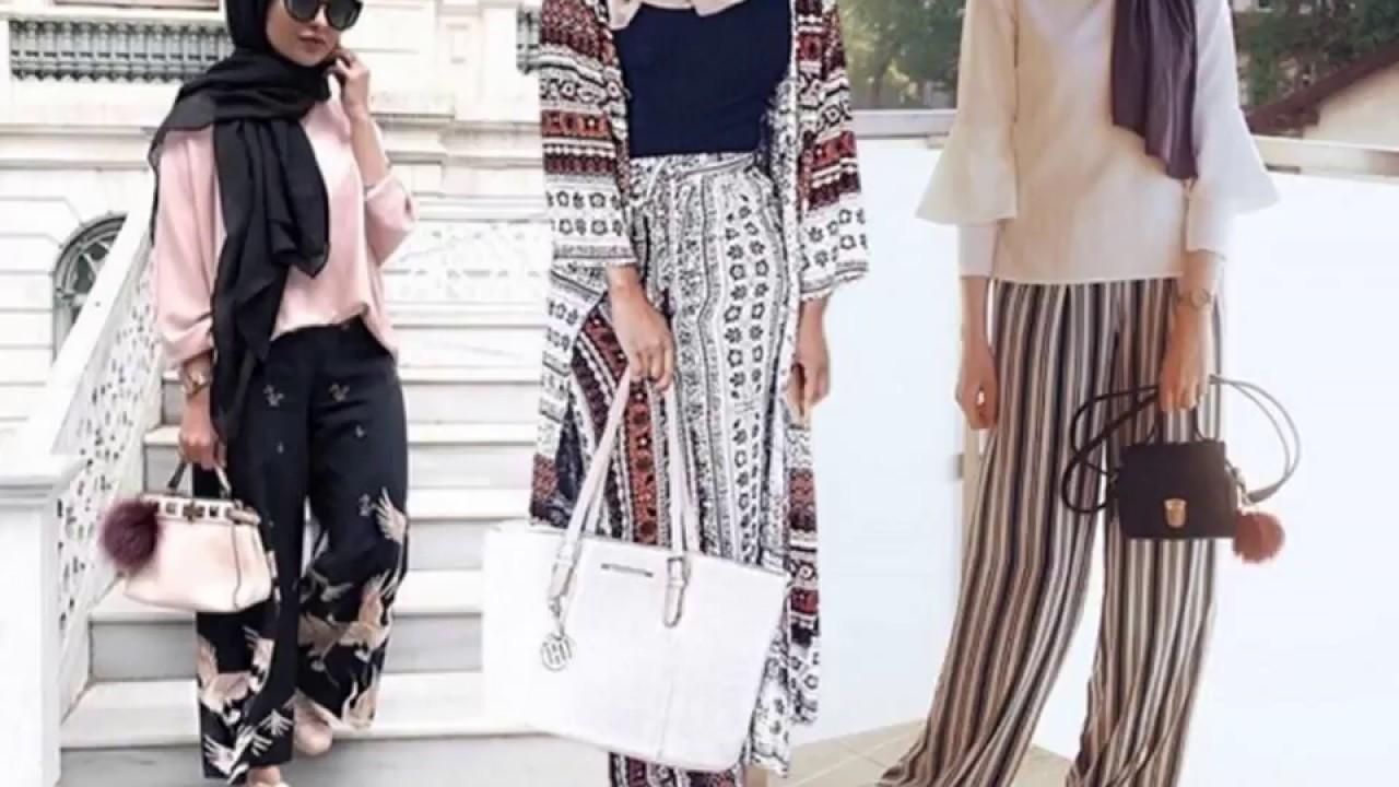 ملابس بتصميمات مميزة للمحجبات