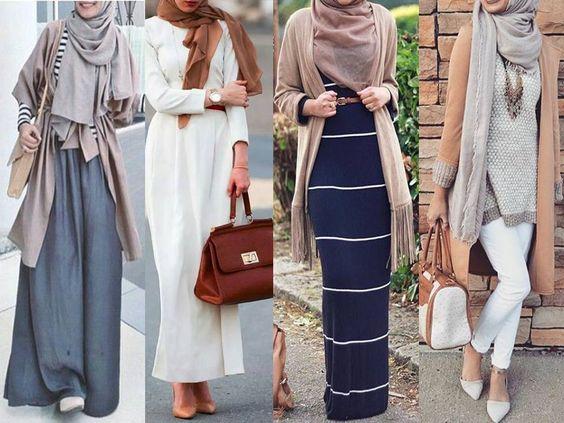 ملابس للمحجبات بتصميمات مختلفة مميزة