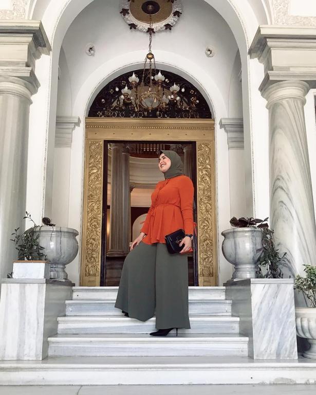 ملابس-محجبات-كاجوال-للبدينات-موضة-2019- (1)