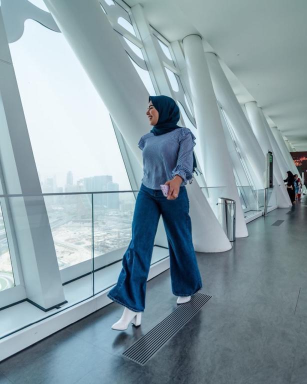 ملابس-محجبات-كاجوال-للبدينات-موضة-2019- (11)