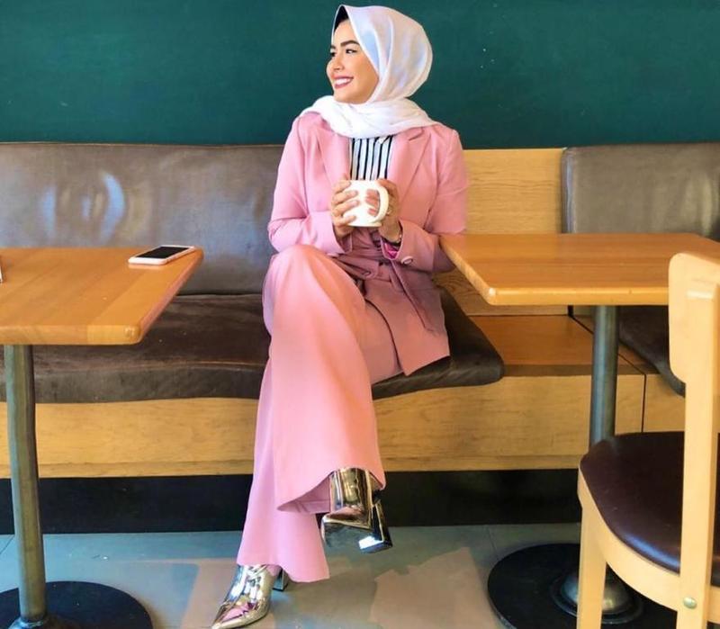 ملابس-محجبات-كاجوال-للبدينات-موضة-2019- (3)