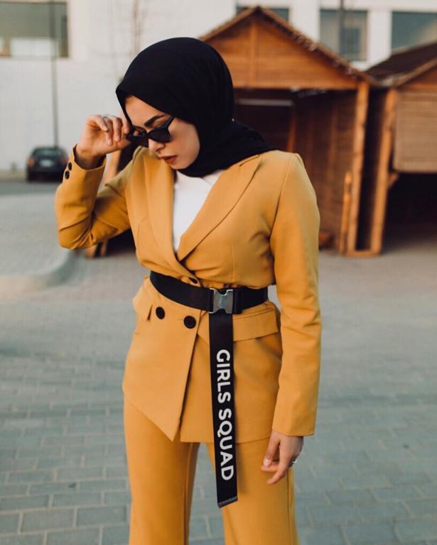 ملابس-محجبات-كاجوال-للبدينات-موضة-2019- (6)