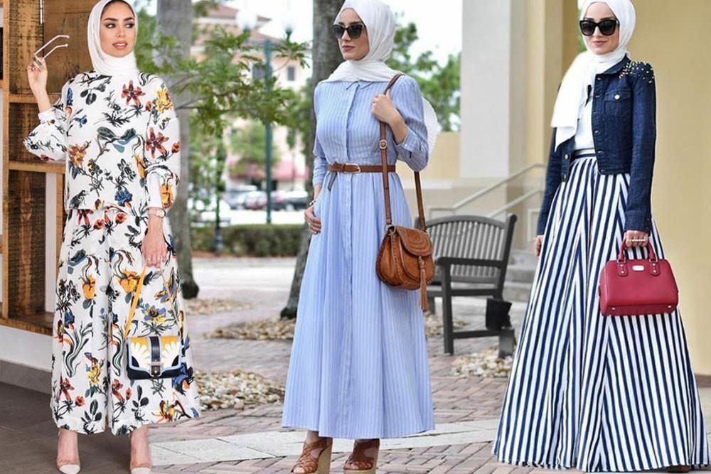 ملابس محجبات 2019 للعيد