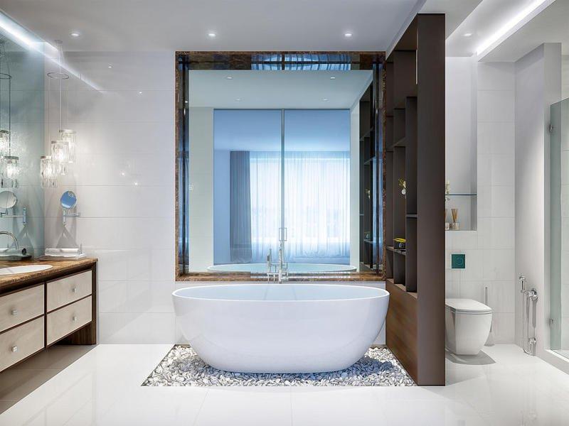 اهم نصائح لاختيار سيراميك الحمامات صغيرة المساحة
