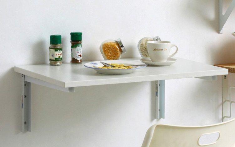 صور أشكال طاولات طعام صغيرة بتصميمات عصرية للمطابخ