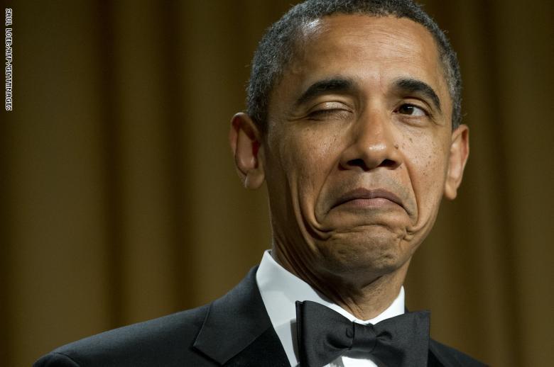 """بيع قميص أوباما بما فيه من """" ثقوب وروائح """" في مزاد علني"""